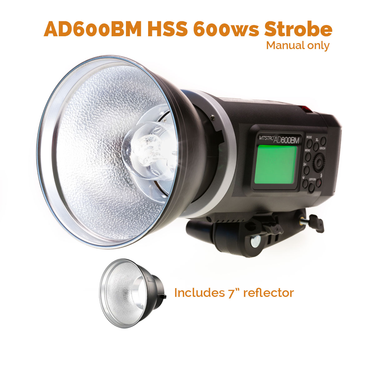 MoLight Godox AD600BM - 600ws HSS Manual Flash