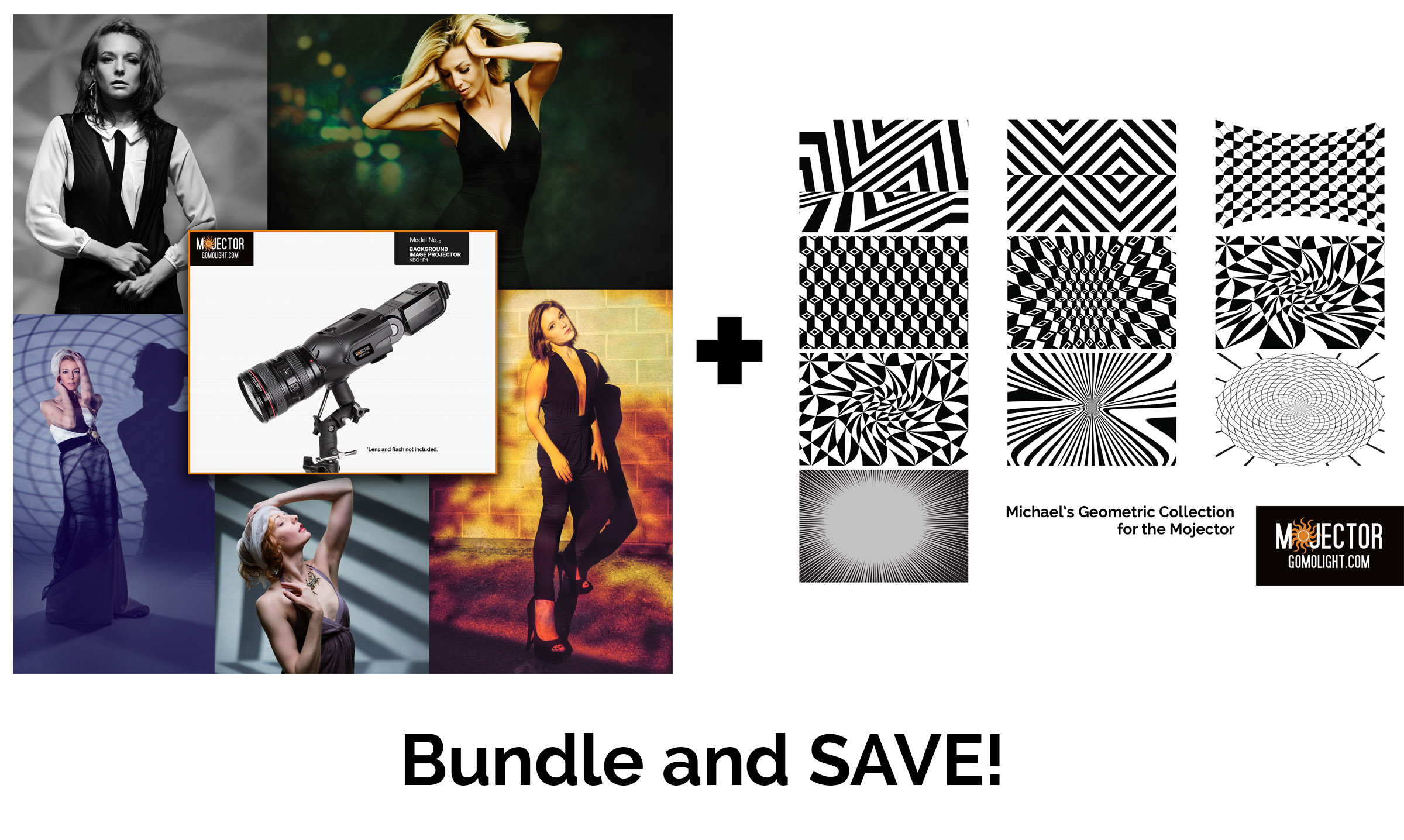 Mojector Bundle 1: Mojector + Geometric Collection